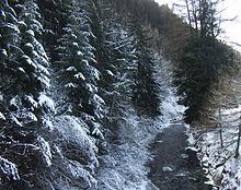Il torrente che scende dalla Vallunga (Langtaufers)