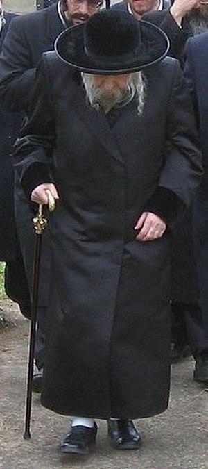 Tosh (Hasidic dynasty) - Grand Rebbe Meshulim Feish Lowy in Hungary, 2005