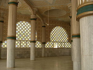 Mouride - Interior of the Great Mosque