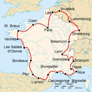 1947 Tour de France cycling race
