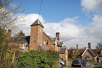 Bedgebury Cross - Image: Tower Cottage, Bedgebury Cross geograph.org.uk 1765883