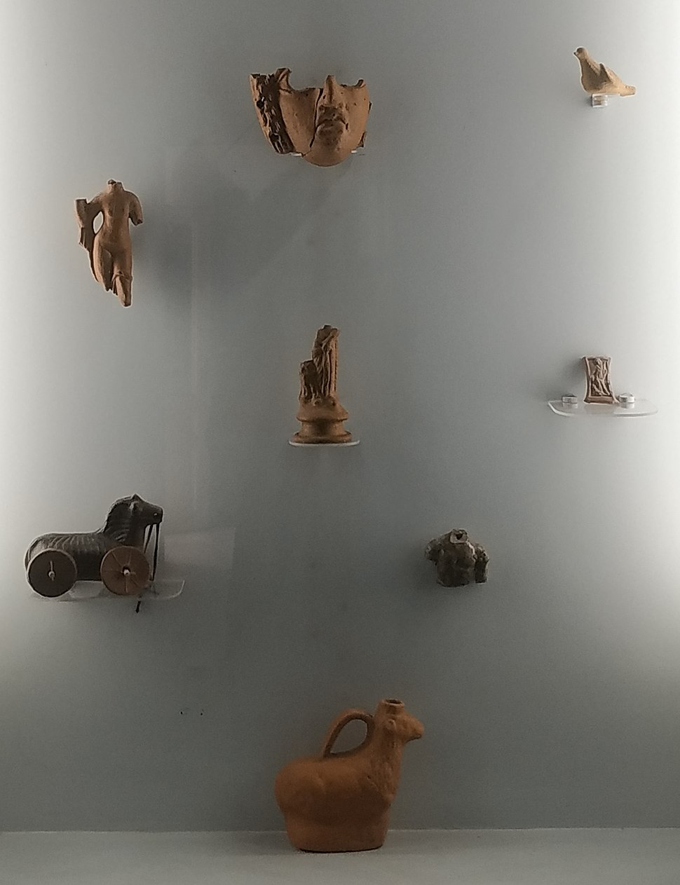 Toys exibited at National Museum in Požarevac