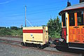Trailer-mounted generator for Willamette Shore Trolley, coupled to car 514.jpg