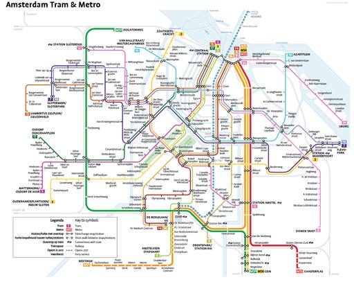 Tram & Metro Amsterdam 2016