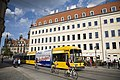 Tram in front of the Taschenbergpalais Hotel, Dresden - 1448.jpg