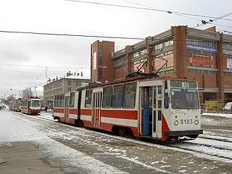 LVS-86 - LVS-86 in Saint Petersburg