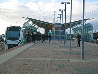 Glendalough railway station railway station in Perth, Western Australia