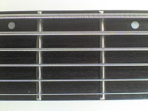 Fingerboard - Six strings bass guitar fingerboard
