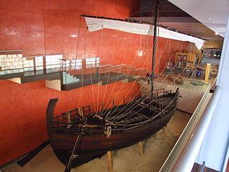 Ayia Napa - The replica Kyrenia II in the Thalassa Museum