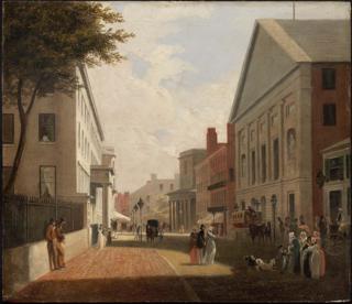 Tremont Theatre, Boston former theater (1827–1843) in Boston, Massachusetts, United States