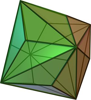Alternation (geometry) - Image: Triakisoctahedron