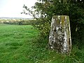 Triangulation pillar, Thornhill - geograph.org.uk - 1002293.jpg
