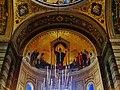 Trieste Tempio serbo-ortodosse della Santissima Trinità e di San Spiridone Innen Abside Nord 1.jpg