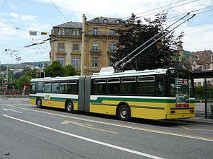 Trolleybus de Neuchâtel