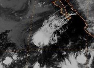 1989 Pacific hurricane season - Image: Tropical Depression Twenty four E 1989