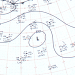 Tropical Storm Four surface analysis August 7, 1963.png