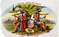 True Americans, tobacco label, ca. 1885.jpg