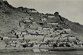 Tsechen Monastery and Dzong