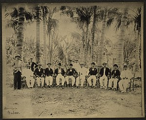 Tubao - Municipal council of Tubao circa 1900