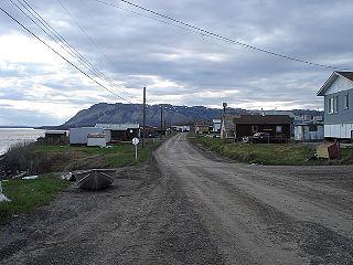 Tulita Hamlet in Northwest Territories, Canada