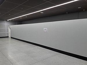 Sungai Buloh–Serdang–Putrajaya MRT line - Tun Razak Exchange Station Sungai Buloh–Serdang–Putrajaya line future platform