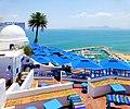 Tunezja, Sidi Bou Said, CAFE des Delices - panoramio.jpg