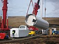 Turbine Tower No 8 Under Construction - geograph.org.uk - 1148632.jpg