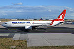 Turkish Airlines, TC-JGS, Boeing 737-8F2 (20167328379).jpg