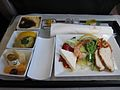 Turkish Airlines Business Class meal, Istanbul—Cairo.jpg