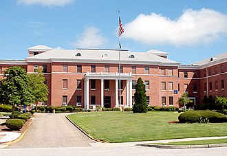 Tuskegee Veterans Administration Medical Center - Image: Tuskegee VA Hospital