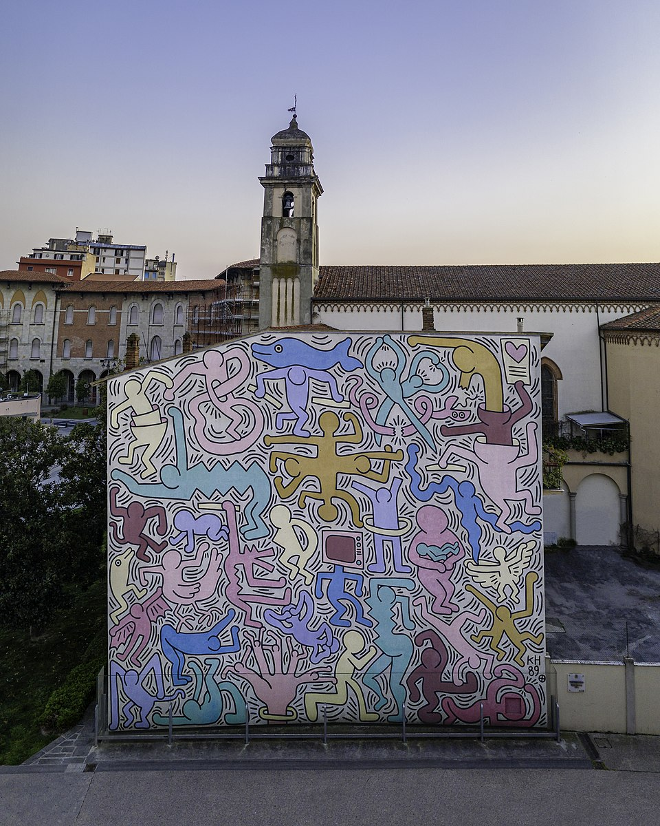 Keith Haring opere
