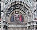 Tympanum left mosaic santa Maria del Fiore Florence.jpg