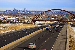 U.S. Route 6 in Colorado - U.S. 6 in Lakewood Colorado