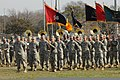 U.S. Soldiers with the 36th Infantry Division participate in a change of command ceremony at Camp Mabry, Texas, Jan 120121-A-PF319-027.jpg