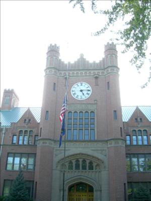 Latah County, Idaho - University of Idaho Administration Building (1909) in Moscow