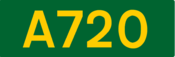 A720 road shield