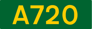European route E15 - Image: UK road A720