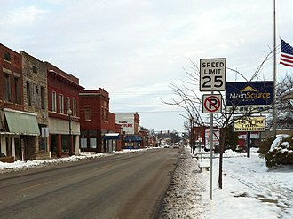 Jasonville, Indiana - Main Street in Jasonville