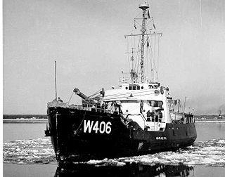 USCGC <i>Acacia</i> (WLB-406) Coast Guard ship