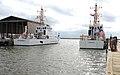 USCGC Razorbill and USCGC Pompano, moored in New Orleans, in 2009.jpg