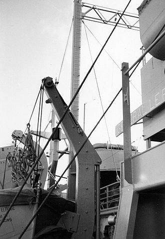 USS General LeRoy Eltinge (AP-154) - Photo aboard ship during Korean War
