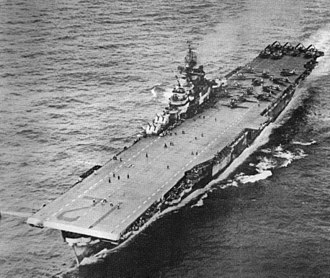 USS Hornet (CV-12) - Hornet in early 1945