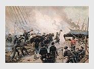 USS Kearsarge in Battle