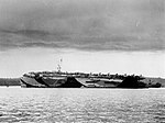 USS Marcus Island (CVE-77) in a South Pacific port on 17 June 1944.jpeg