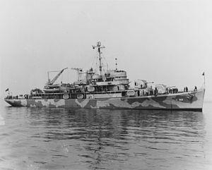 USS Matagorda (AVP-22) in 1942 - 19-N-28802