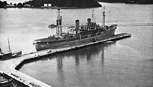 USS Maury (AGS-16) - Maury in Thailand, circa 1961.