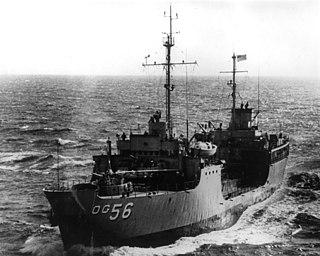 USS <i>Noxubee</i> (AOG-56) US Navy tanker