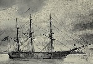 William Radford - U.S. frigate Savannah, flagship of the Pacific Squadron, 1844