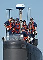 US Navy 030819-N-0780F-002 USS Hampton (SSN 767) crewmembers prepare to get underway following a brief port visit to Souda Bay, Crete.jpg