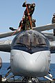 US Navy 040224-N-5781F-004 Plane captains wash down an S-3B Viking.jpg
